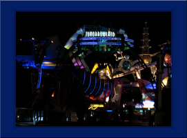 Tomorrowland at night - MK WDW by WDWParksGal