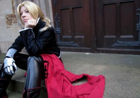 Ed Elric - Waiting by Majin-sama