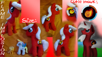 Flame Implosion: pony plush! by KotElen