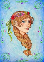 Anna of Arendelle by rakerumcr
