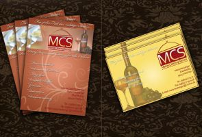 Flyer MCS Catering by DOMDESIGN