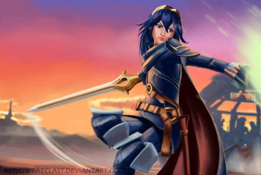 Smash Bros. [Lucina] by Wraeclast