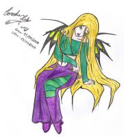 Cornelia - witch - colored by ViBlue