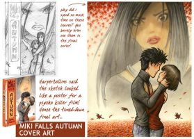 Miki Falls Autumn Cover by markcrilley