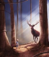 Forest encounters by dresew