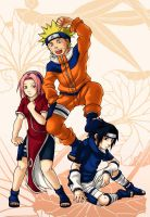 Naruto: Team 7 by l-s