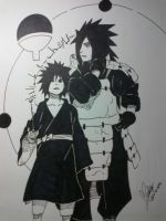 Madara Uchiha - The Uchiha Clan by montonico
