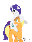 Elusive and AJ Spooked. by StagetechyArt