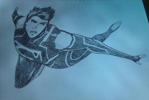 Superboy by CambodianFire
