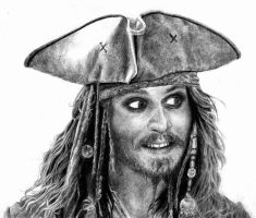 Jack Sparrow by tutut
