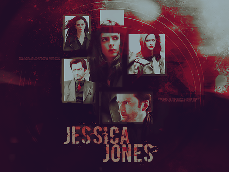 jessica jones by tuschen