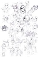Concept sketches. by nalem