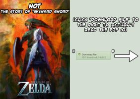 NOT the story of Skyward Sword by ninjatoespapercraft