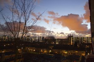 Sunset over Rijswijk by rpfaas