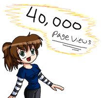 40 000 Pageviews by Hero-of-Awesome