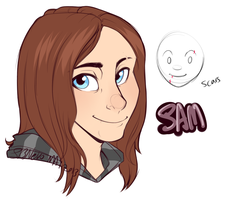 Sam - Character Concept by strawberryneko33