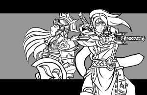 Taki and Sophitia 3 by JYC