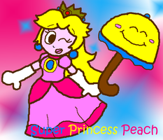 Super Princes Peach by cazzyx3