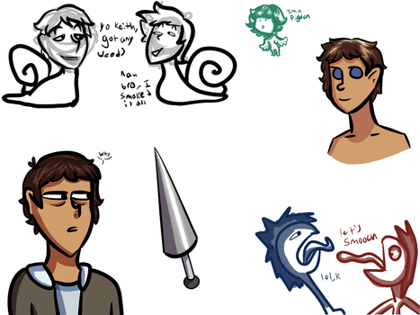 Lance Sketches by TheFanta-syLife