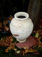 Roman Numerals Pot by robynx13