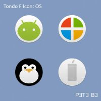 Tondo F Icon Set: OS by P3T3B3