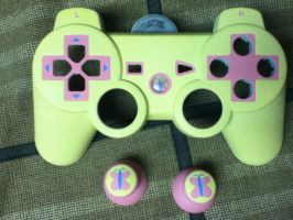 fluttershy controller WIP by midnightfox1