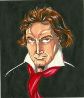 Beethoven by papinucho