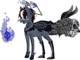 MLP Bone limbhead pony auction 39 CLOSED by ElkaArt