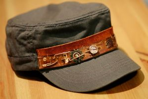 Steampunk hat V5, light edition by yukosteel