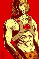 The man from Eternia by Vranckx