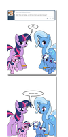 Ask Twixie Tumblr #443 by Dekomaru