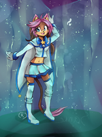 :COM: starry stage by chibi-roll