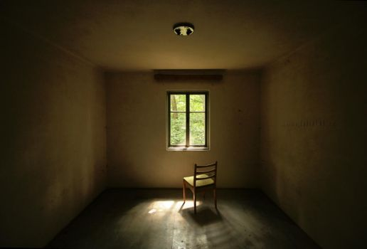 A Chair in an Empty Room by ondrejZapletal