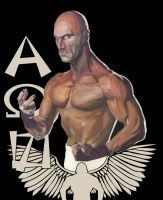 Christopher Daniels Painting by whatwouldjoshdo