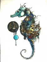 Seahorse by neon999