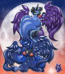 Luna and Nightmare by klmsama