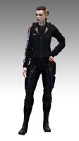 Mass Effect 3 Jack N7 Hoodie model by Nightfable
