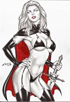 LADY DEATH SALE ON E-BAY AUCTION NOW !!! by carlosbragaART80