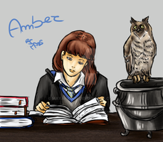 [Harry Potter OC]Amber by MayaPatch