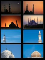 Mosques by Mustafa-H