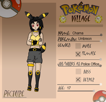 Pokemon Village - Charna by ShiftingDestiny