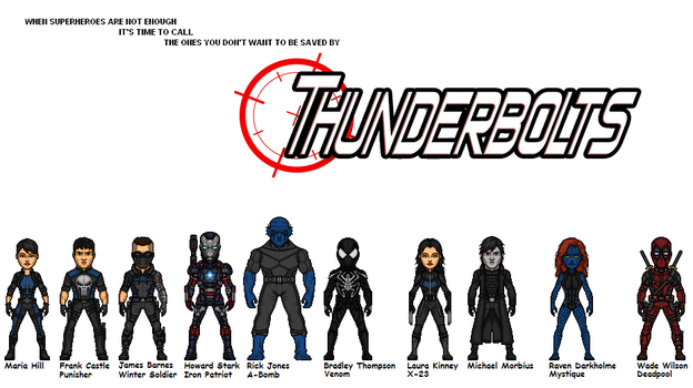 Ultimate Initiative: Thunderbolts (New Version) by Joker960317