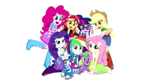 Friends forever!Vector By:Twilight Delory Sparkle by DelorySparkle