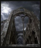 Haunted Abbey by pixini