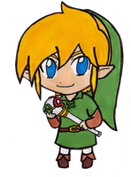 Chibi Link - Oracle of Seasons by EasterEgg23