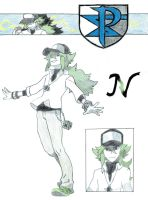 Pokemon BW Profile: N by aaronio999