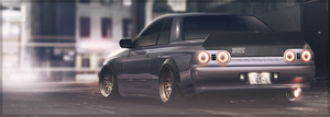 Skyline R32 | 2d | Photoshop | AutemoComp by GlaciusCreations