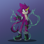Espio [Stylized] by PokeGirl150