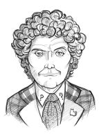 Doctor Who #6 - Colin Baker by thecommonwombat