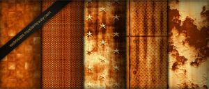 Burnt Orange Patterns Part2 by WebTreatsETC